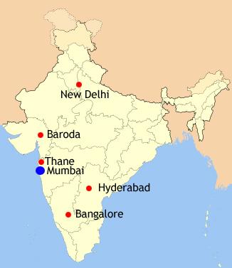 Baroda India Map.Kvc Process Systems